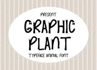 Graphic Plant Font