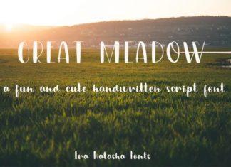 Great Meadow Font