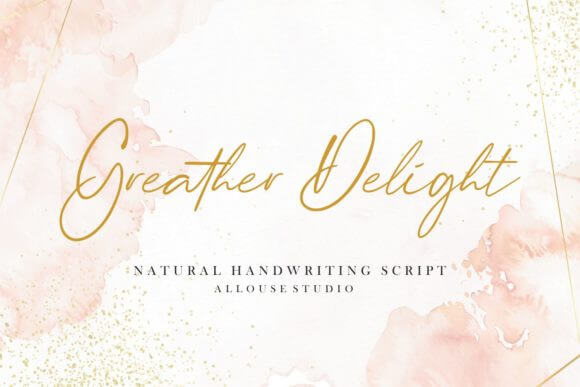 Greater Delight Font
