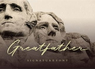Greatfather Font