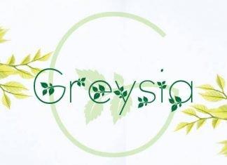 Greysia Font