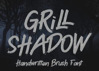 Grill Shadow Font