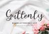 Guttenly Font