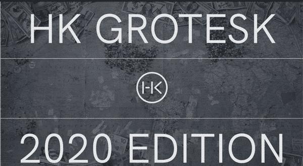 HK Grotesk 2020 Font