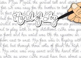 Hand of Joy Font