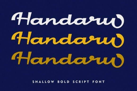 Handaru Font