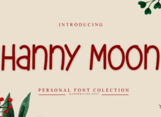 Hanny Moon Font