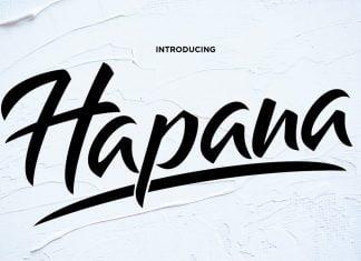 Hapana - Authentic Display Font