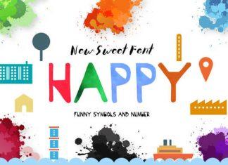 Happy Hour Font