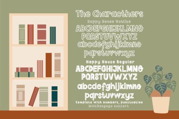 Happy House Font