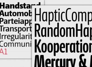 Haptic Font