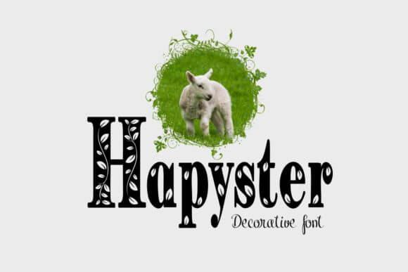 Hapyster Font