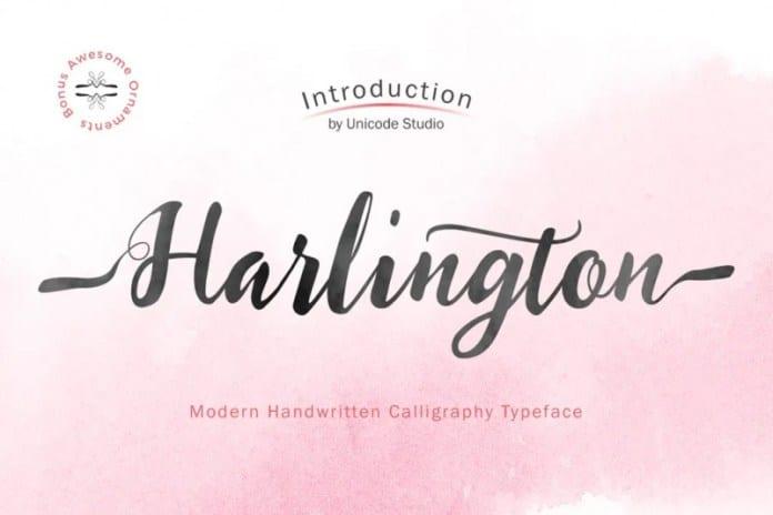 Harlington Script Font