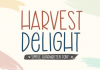 Harvest Delight Font