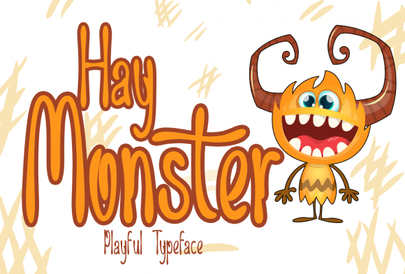 Hay Monster Font