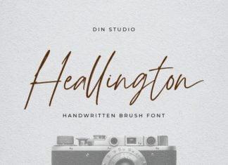 Heallington Font
