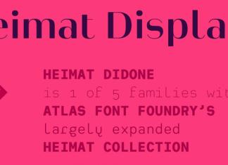 Heimat Display Font