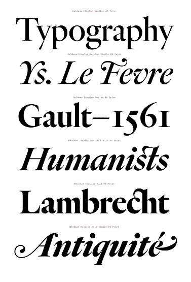 Heldane Text Font