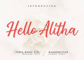 Hello Alitha Font