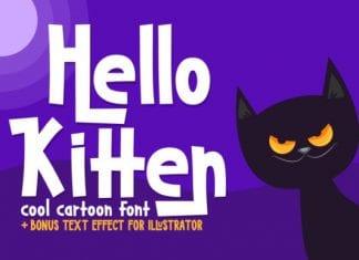 Hello Kitten Font
