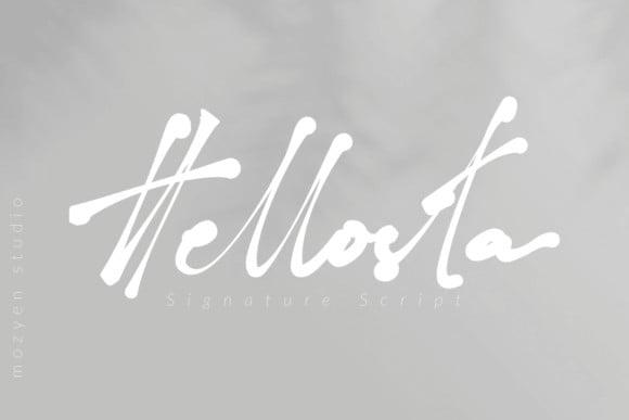 Hellosta Font