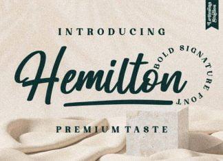 Hemilton Font