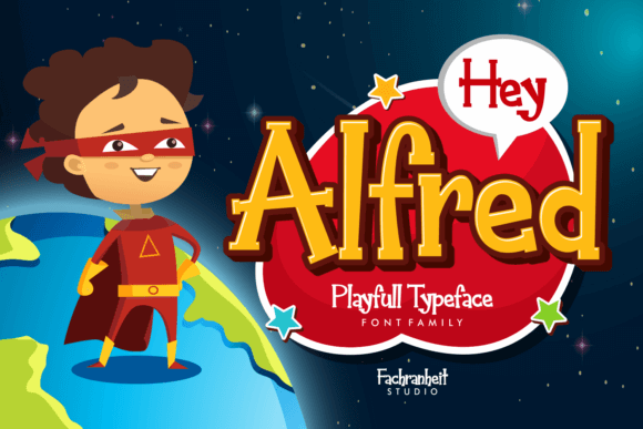 Hey Alfred Font