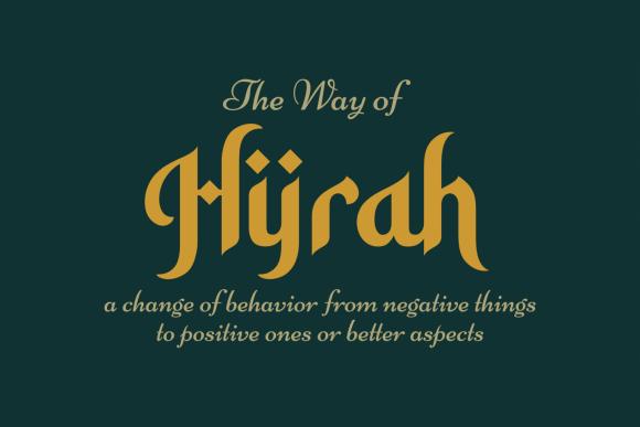Hidayatullah Font