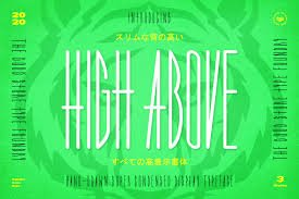 High Above Typeface