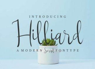 Hilliard Font