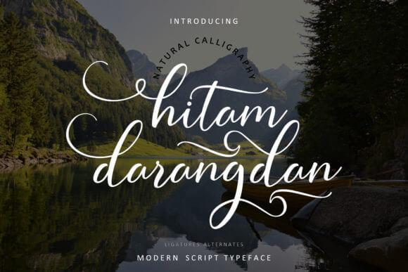 Hitam Darangdan Font