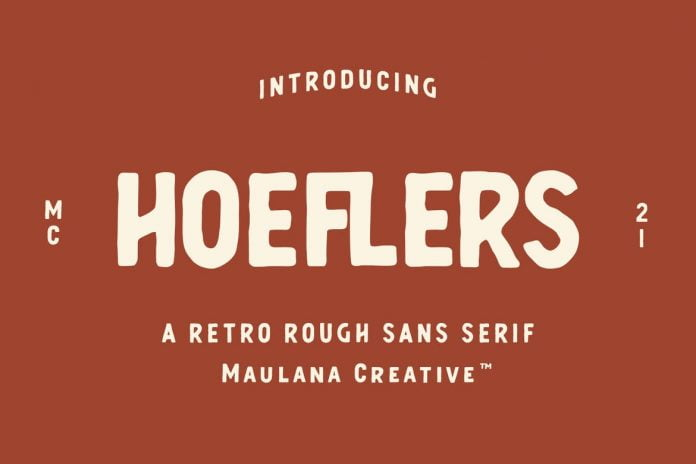 Hoeflers Rough Sans Font