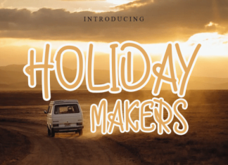 Holiday Makers Font