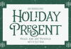 Holiday Present Family Font