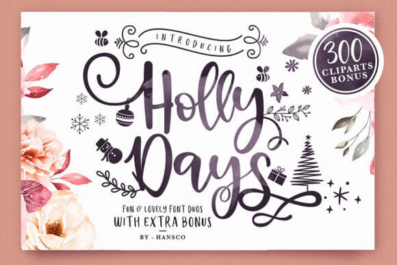 Holly Days Font