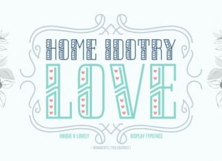 Home Idotry Love Font