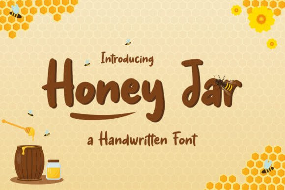 Honey Jar Font