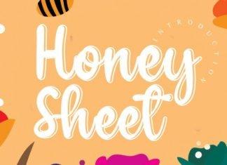 Honey Sheet Font