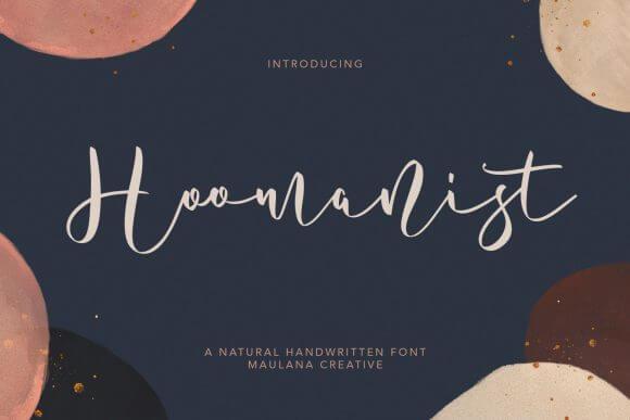 Hoomanist Font