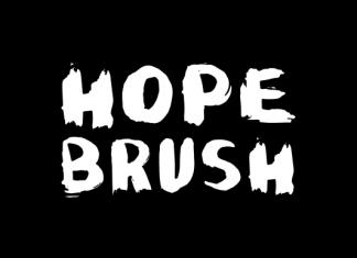 Hope Brush Font
