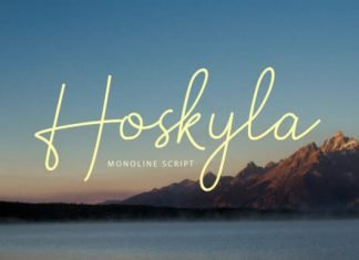 Hoskyla Font