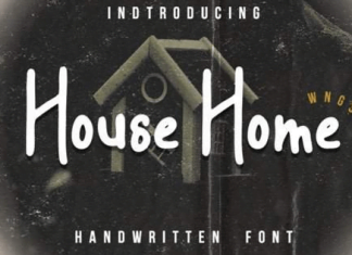 House Home Font