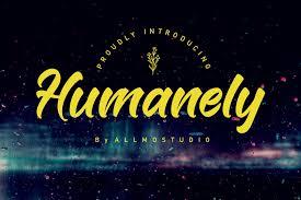 Humanely Font
