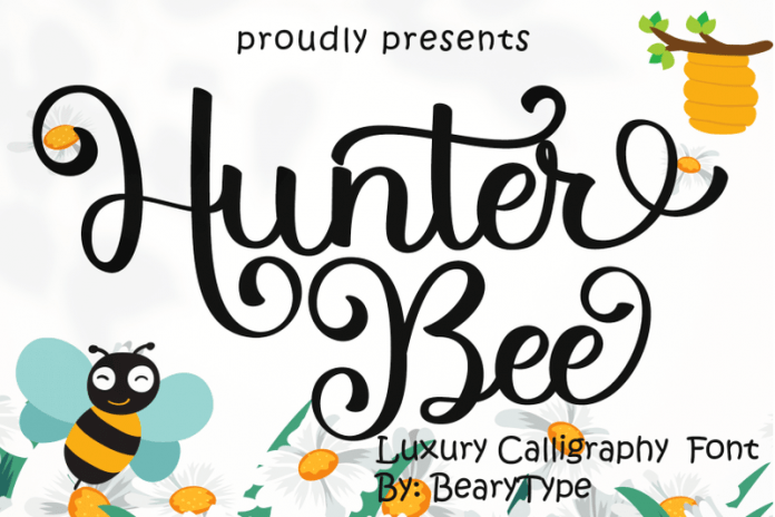Hunter Bee Font