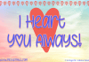 I Heart You Always Font