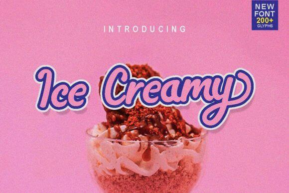 Ice Creamy Font