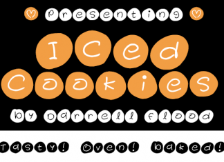 Iced Cookies Font