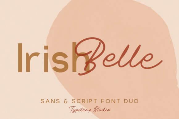 Irish Belle - Script & Sans Duo