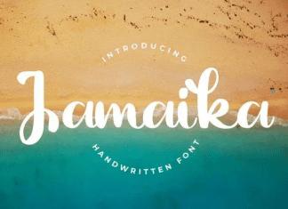 Jamaika - Handwritten Font