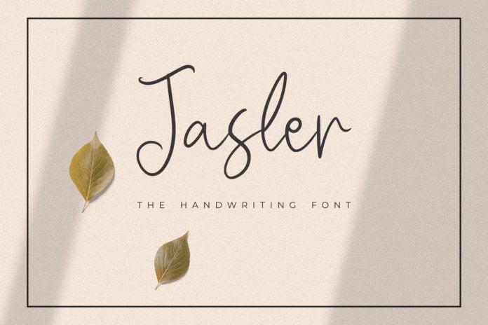 Jasler - The Handwriting Font